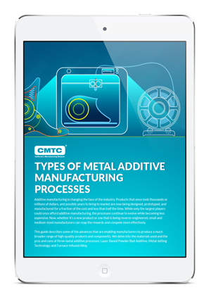 Types of Metal Additive Manufacturing Processes